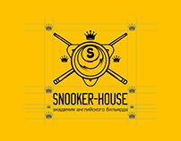 Snooker House logo & identity