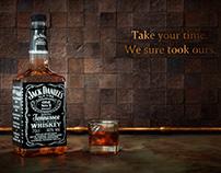 Jack Daniels - 3D Product Shot