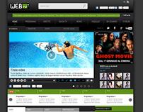 Proposal demo portal for web tv