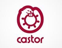 Castor: Yacht logo design