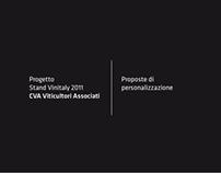 Progetto Stand CVA per Vinitaly 2011
