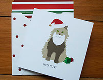 Kitten Inn Chistmas Cards
