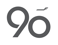 Finnair 90 Years Emblem, 2012