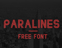 Paralines - Free Font