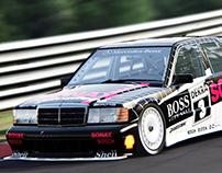 Mercedes-Benz 190E DTM Assetto Corsa