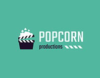 POPCORN Productions website&logo