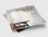 Brownie's Place marketing brochure - Graphic Design