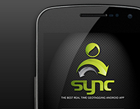 UI Design for SYNC - geotagging android based app