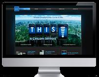 Celcom Smartphones Website