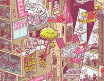 Business Punk Illustration
