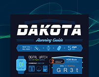 Dakota Typography Infographic