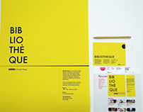 Bibliotheque Poster design