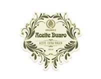 Diseño etiquetas de Aceite