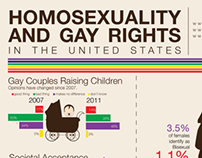 Gay Rights in the USA an infographic