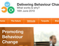Behaviour change conference