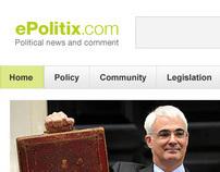 ePolitix redesign