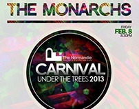 Carnival under the trees