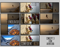 artdirection for a corporate video-layout-look aventura