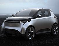 EONE. Electric City Car Concept