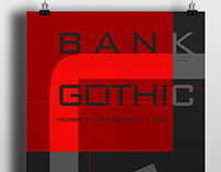 [2014 Fall] Type Specimen-Bank Gothic