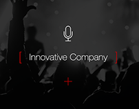 Mic Brand Website Concept