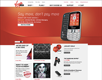 Virgin Mobile Site Refresh