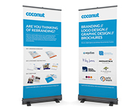 The Coconut Group - Roll Up Banners