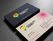 Googong Homes logo and branding design
