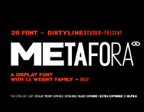 METAFORA SANS (BOLD VERSION) - FREE CONTEMPORARY DISPLA