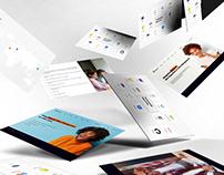 Portfolio website for IT company