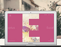 Gardens Shop - from A to Z - Webdesign & Editorial