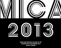 MICA Competitive Scholarship 2013