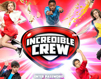 Cartoon Network Incredible Crew Interactive PR Site