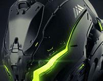 WARLOCK helmet concept