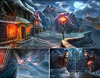Games concepts & illustrations