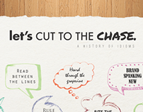 Let's Cut to the Chase: A History of Idioms