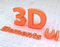 3D UI Elements