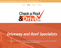Roofing Website Onepage 2017