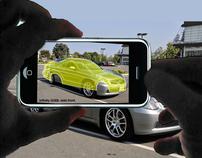eBay Motors mobile photo-template