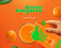 Juice «Green kangaroo»