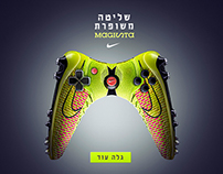 Magista NIKE Advertising Campaign