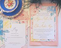 Elegant Princess Wedding Invitations