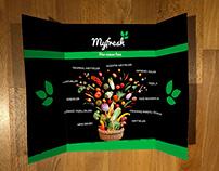 Brochure design for Myfresh Product