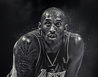 Kobe B/W