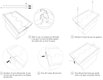 Post Box Assembly Instructions for Correos Spain
