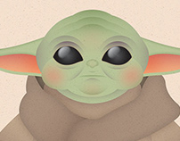 """The Child (""""Baby Yoda"""" from The Mandalorian)"""