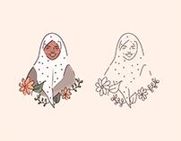 Halima Aden | Hijabi Illustration