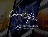Colombian Nights - Mercedes Benz® Colombia