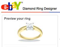 eBay Diamond Ring Designer - a configurator interface