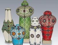 Moroccan Lantern Vases
